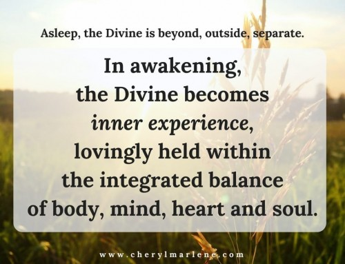 In Awakening, the Divine is Inner Experience