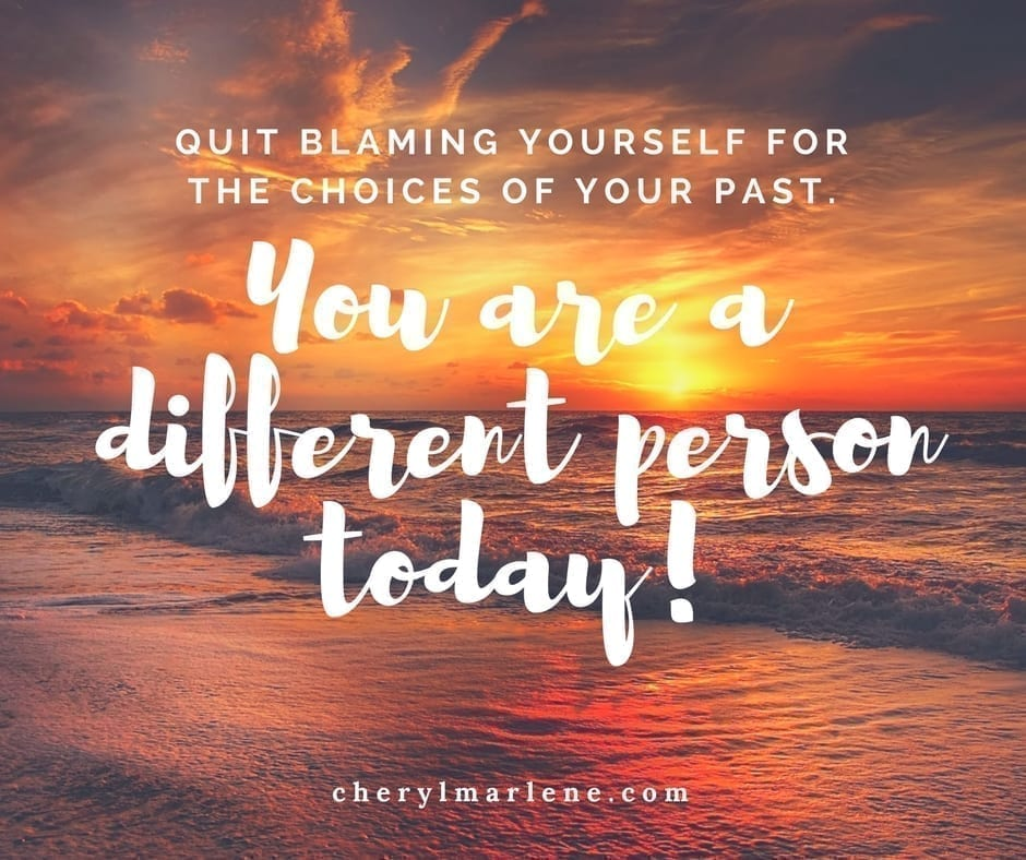 You are a Different Person Today by Cheryl Marlene