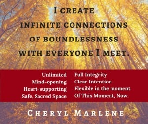 I Create Connection by Cheryl Marlene
