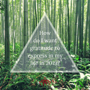 Weekly Question: How Do I Want Gratitude to Express in My Life in 2019? by Cheryl Marlene