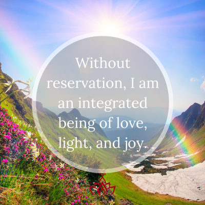 Being of Love, Light, and Joy by Cheryl Marlene