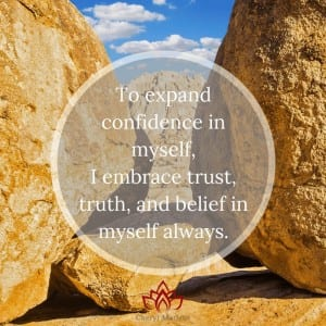 Confidence from Truth, Trust, and Belief by Cheryl Marlene
