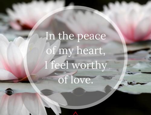 Feeling Worthy of Love