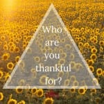 Thankful for Connection By Cheryl Marlene