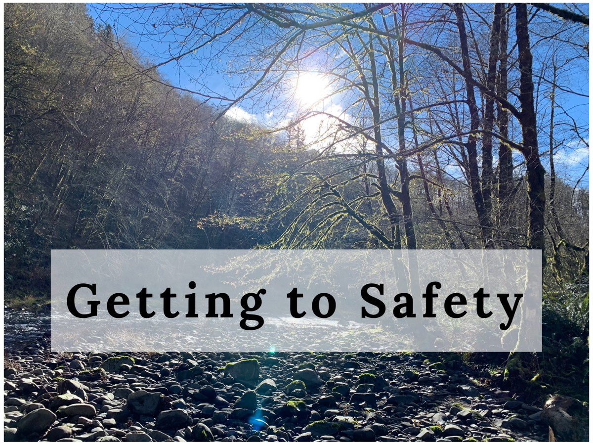 Getting To Safety by Cheryl Marlene