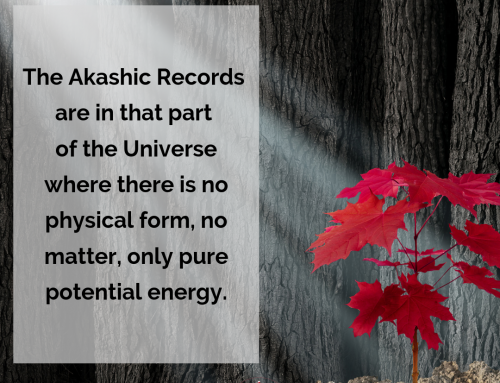 The Pure Potential Energy of the Akashic Records
