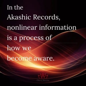 About the Nonlinear Information of the Akashic Records