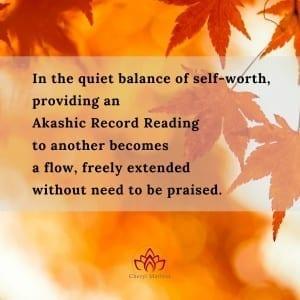The Quiet Balance of Self-Worth by Cheryl Marlene