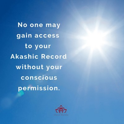 Your Conscious Permission and the Akashic Records by Cheryl Marlene
