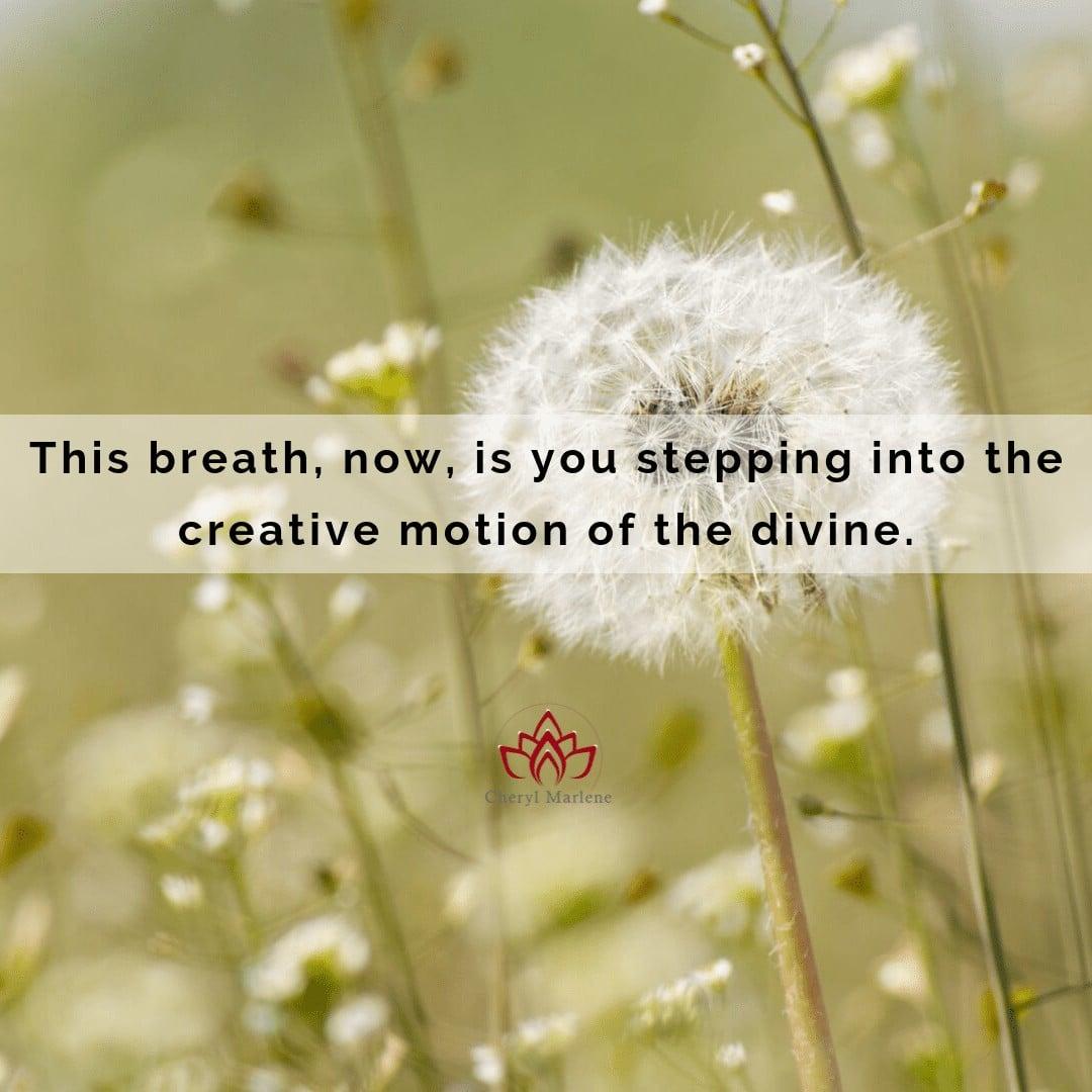 This Breath by Cheryl Marlene