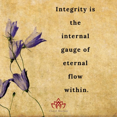 Integrity and the Akashic Records by Cheryl Marlene