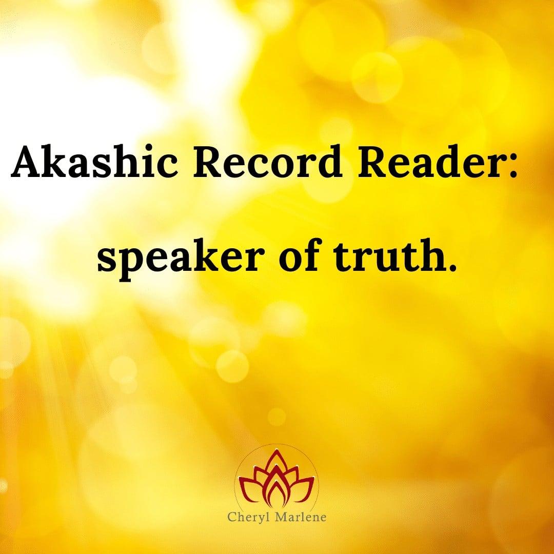 Speaker of Truth by Cheryl Marlene