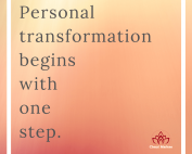 Personal Transformation: One Step by Cheryl Marlene