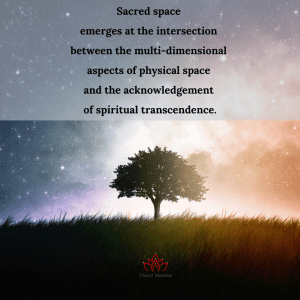 The Emergence of Sacred Space by Cheryl Marlene