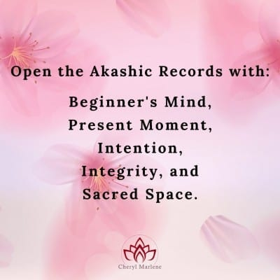 Five Spiritual Concepts of the Akashic Record Reader by Cheryl Marlene