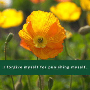 Affirmation #1 for Regret by Cheryl Marlene