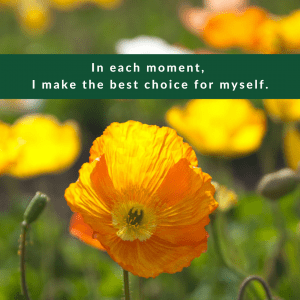 Affirmation #3 for Regret by Cheryl Marlene