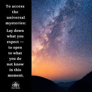 Accessing the Universal Mysteries by Cheryl Marlene