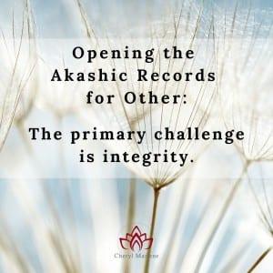 Challenge of Integrity by Cheryl Marlene