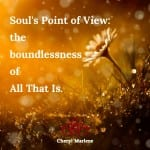 Soul's Point of View by Cheryl Marlene