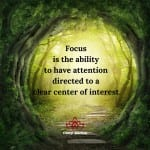 Focus Through Attention by Cheryl Marlene
