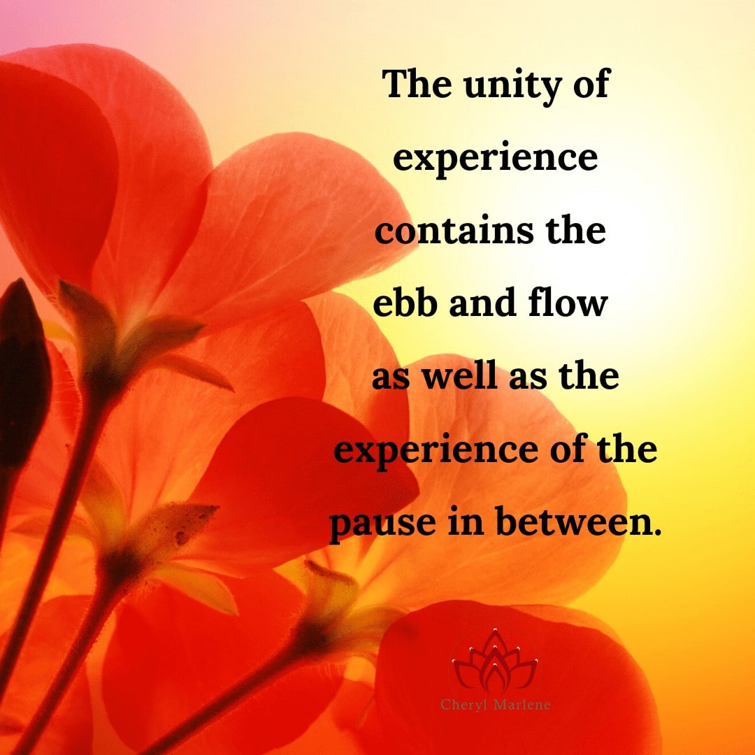 Pause Within the Unity by Cheryl Marlene