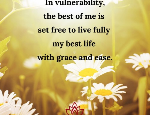 Vulnerability with Grace and Ease