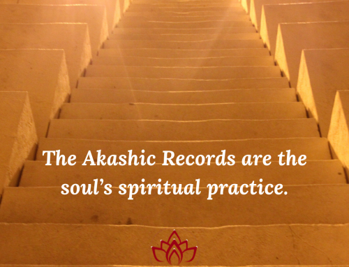 The Akashic Records are the Soul's Spiritual Practice