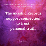 No Right Answers in the Akashic Records by Cheryl Marlene