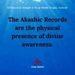 Divine Awareness and the Akashic Records