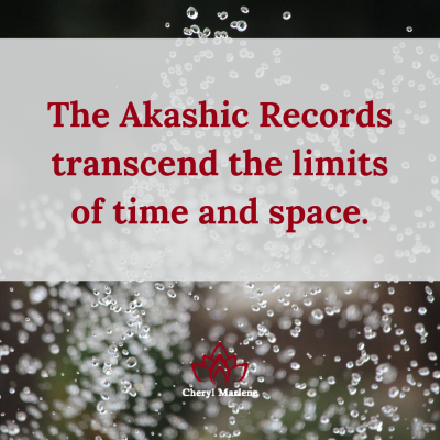 The Transcendence of the Akashic Records by Cheryl Marlene