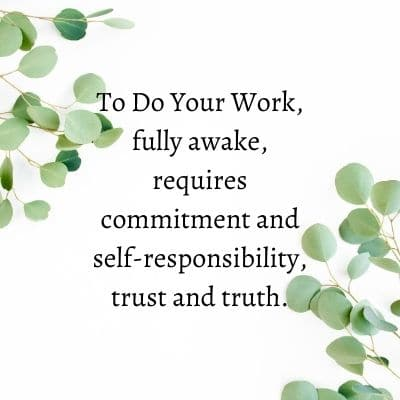 Requirements To Do Your Work by Cheryl Marlene