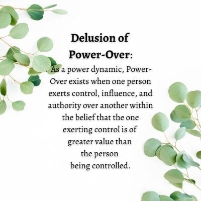 Delusion of Power Over by Cheryl Marlene