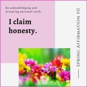 Spring Affirmation Week 11 by Cheryl Marlene