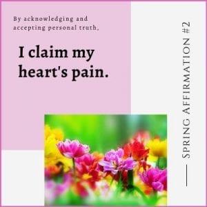 Spring Affirmation Week 2 by Cheryl Marlene